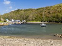 Solva towards harbour carpark
