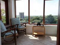 Coach House Sun Room with Cathedral View